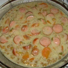 Egy finom Virslis lencseleves  ebédre vagy vacsorára? Virslis lencseleves  Receptek a Mindmegette.hu Recept gyűjteményében!