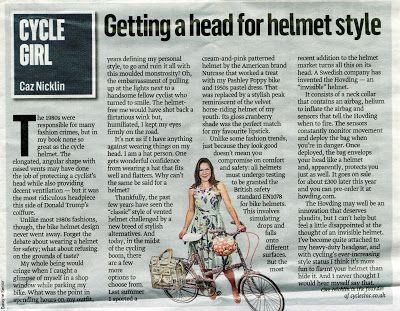 THE SUNDAY TIMES - CYCLING COLUMN