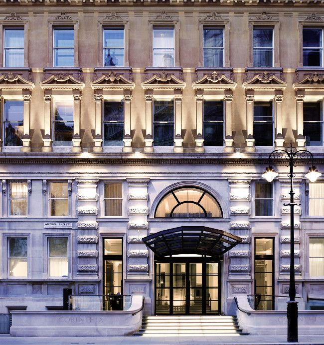 Luxury Travel Writer Russell Higham Reviews The Five Star Corinthia Hotel Whitehall Place In London Corinthia Hotel London Hotel Facade London Luxury Hotels