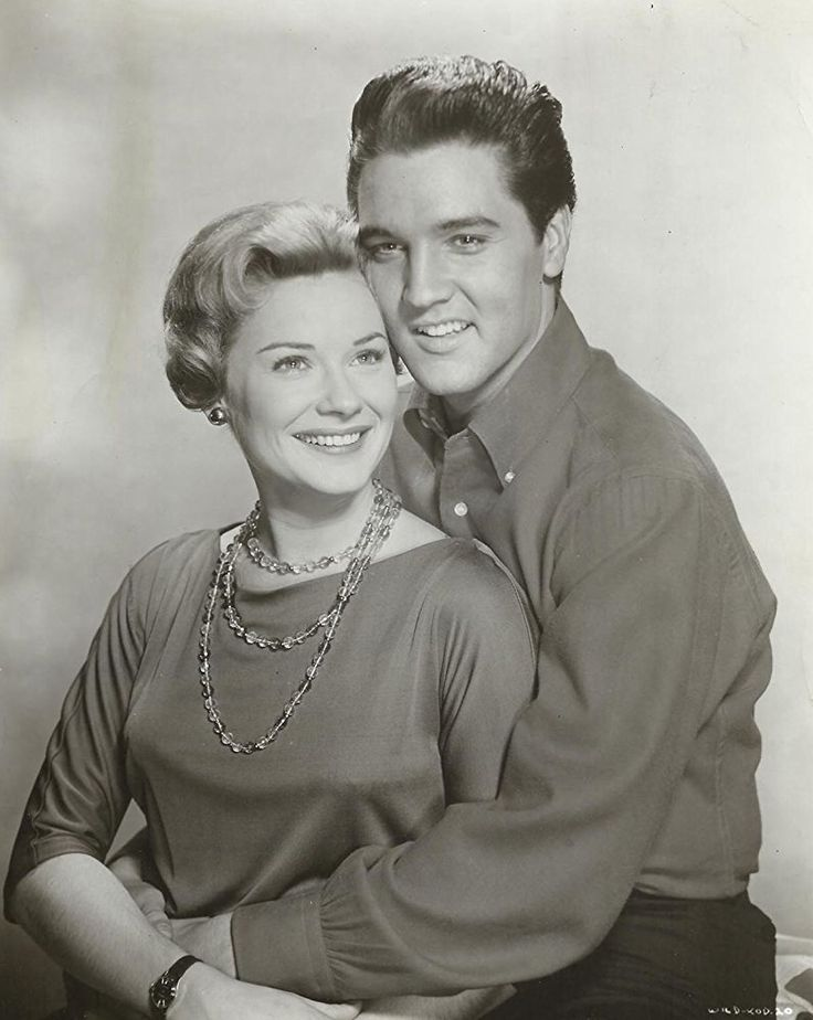 Elvis Presley and Hope Lange in Wild in the Country (1961)