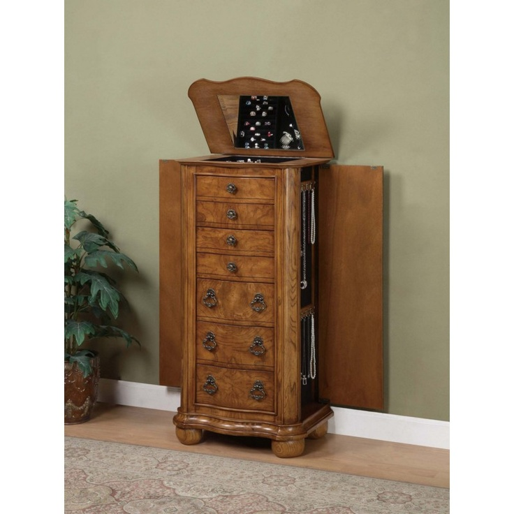 Jewelry Armoires Wallmount Jewelry Armoire Powell