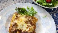 saftig hjemmelagd lasagne