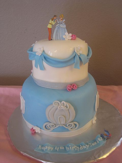 Cinderella cake!  For when I find my Prince Charming