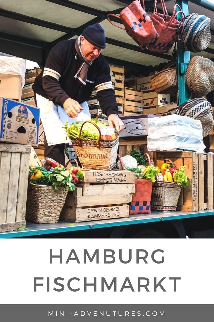 Hamburg's infamous Sunday Fischmarkt (fish market) is one of the city's best-loved traditions. See sellers flog their wares, pick up a bargain and drink beer first thing in the morning!