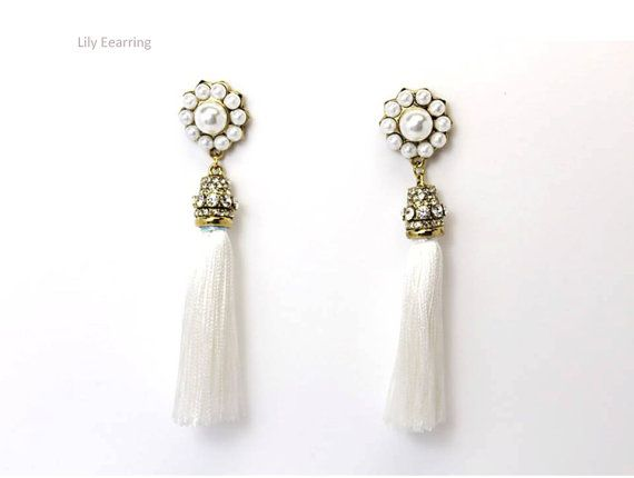 Lily Earring by Myfunny on Etsy, $34.37