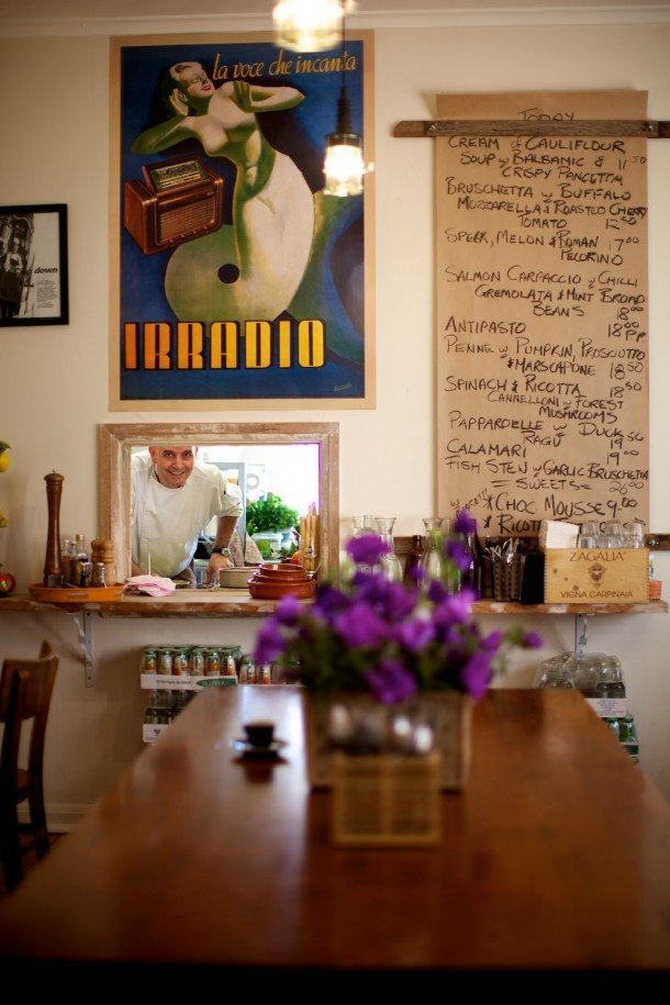 menu, cafe, pure italian, balwyn north, photo by Guy Lavoipierre