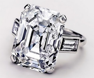 Princess Grace of Monaco's diamond engagement ring.