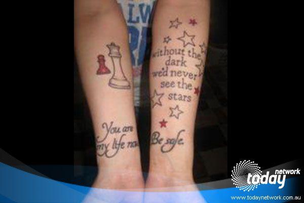 Twilight Saga Inspired Tattoos: EDWARD QUOTES | CHESS PIECE