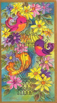 Vintage Greeting card.