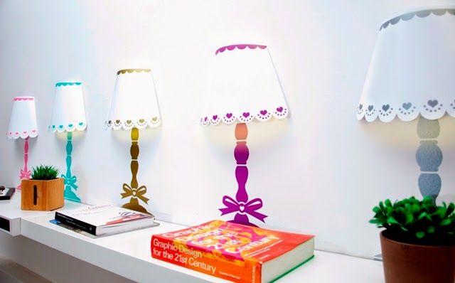 Risultati immagini per lampada per comodino fai da te