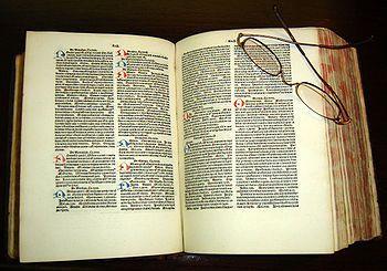 O Cânone da Medicina – O livro da Cura - Copia latina concluida em 1484, Universidade do Texas em San Antonio. Enciclopédia médica de 14 volumes escrita pelo cientista e físico muçulmano persa Ibn Sina(Avicena) em torno do ano 1020.