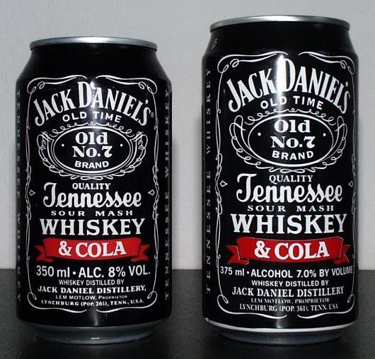 Jack Daniel's and Coke.