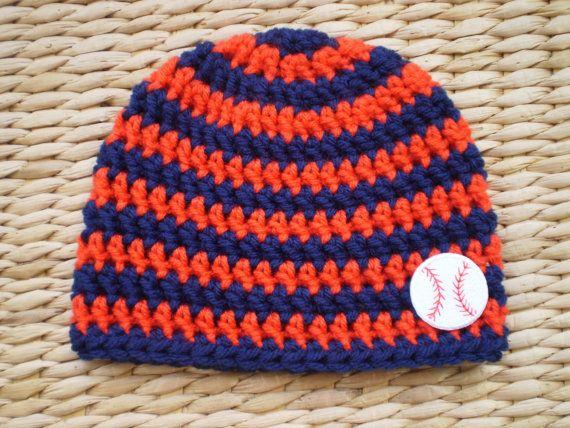 Detroit Tigers Baby Beanie by Sadie's Cottage, $14.00