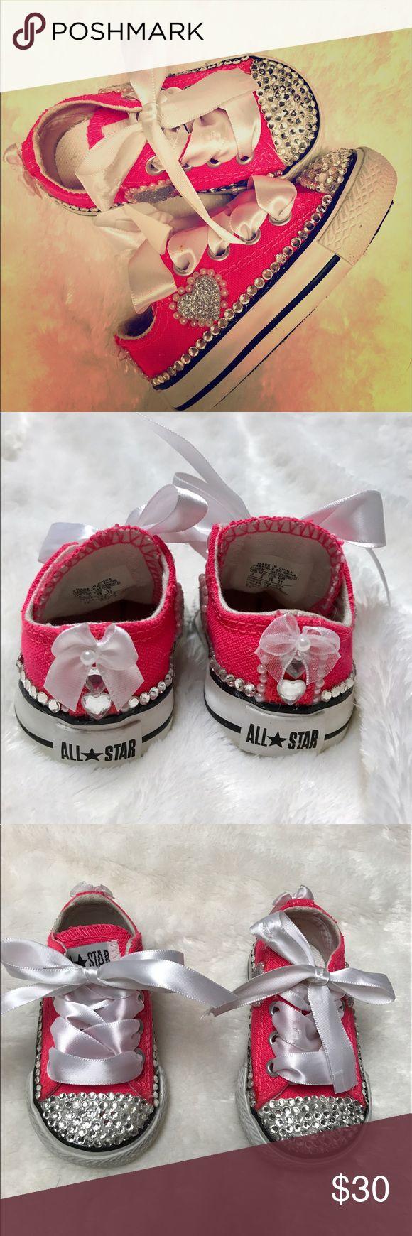 Converse Neon pink infants converse size 2 Converse Shoes Baby & Walker
