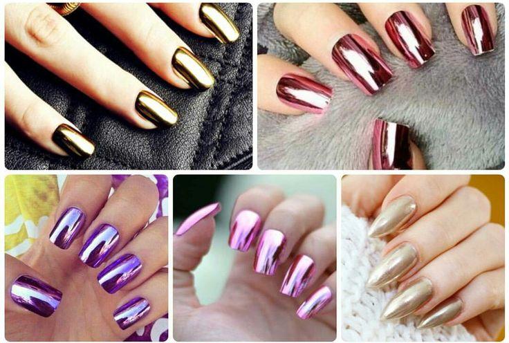 O Metalizado está super em alta, tomou conta do look e se transformou até em Nail art! Corre no Blog e confere duas Dicas para Unhas mega Cromadas!  #Metalizado #Tendência #Trend #Nail #Unhas #Cromadas #NailArt #Nails #Dicas #DicasDaRe #SegredosDaRe