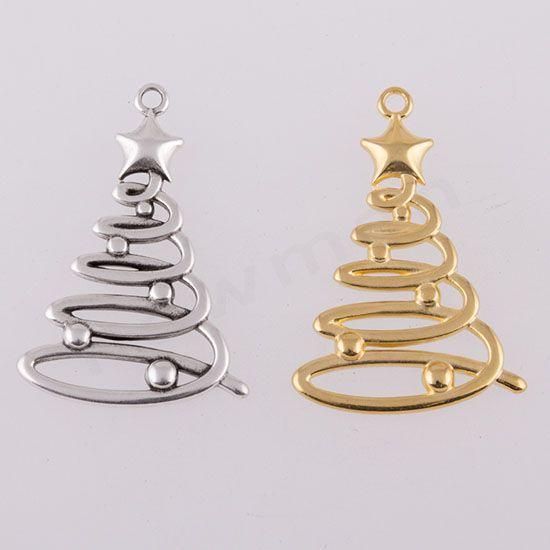 Μεταλλικά στοιχεία Χριστουγεννιάτικα δέντρα | bombonieres.com.gr
