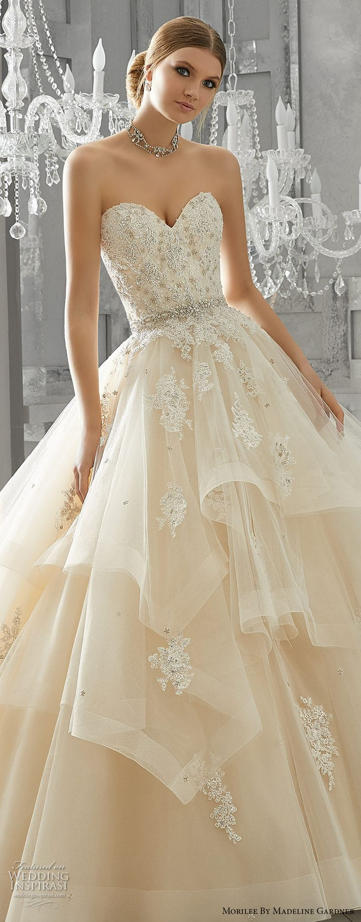 933 best Colored wedding gowns/ball gowns images on Pinterest ...