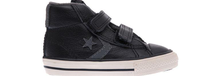 CONVERSE - Βρεφικά παπούτσια Converse Star Player μαύρα μόνο 35.00€ #sale #style #fashion