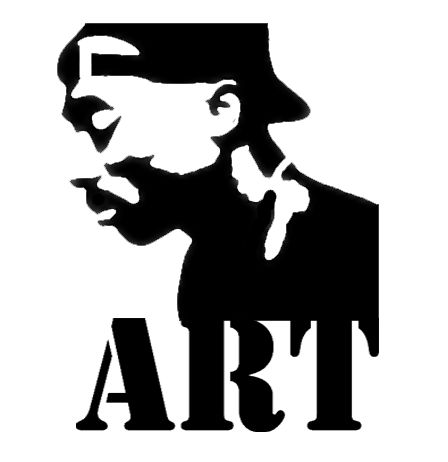 Tupac Graffiti Stencil Projects To Try Pinterest Art Black And