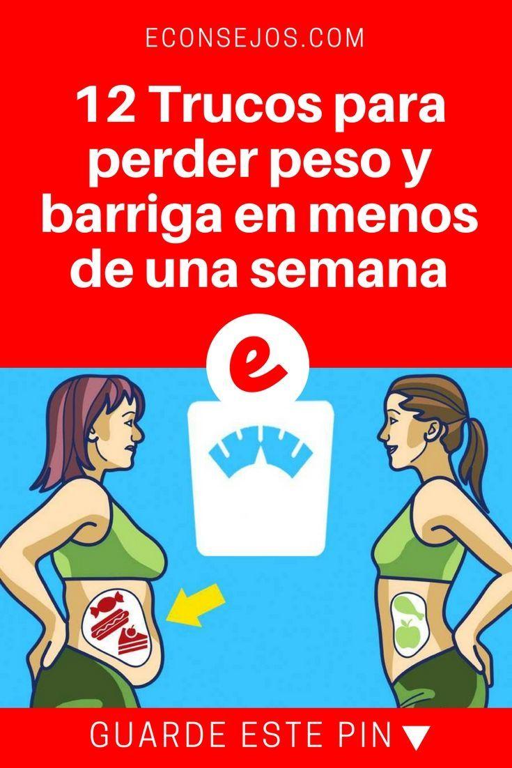 Trucos para adelgazar | 12 Trucos para perder peso y barriga en menos de una semana | La regla del dos para perder peso? #adelgazarbrazos