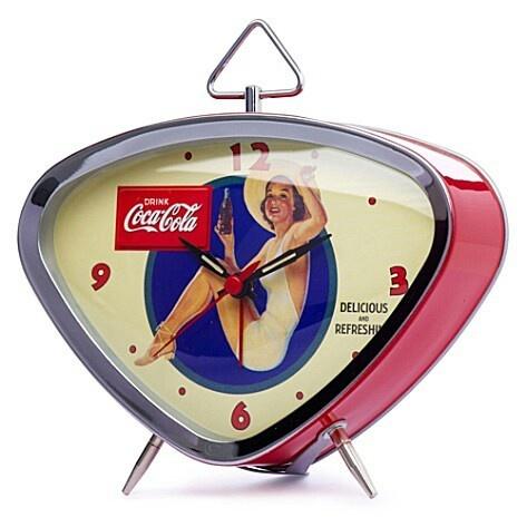 Retro Coca-Cola Coke Clock                                                                                                                                                                                 Más
