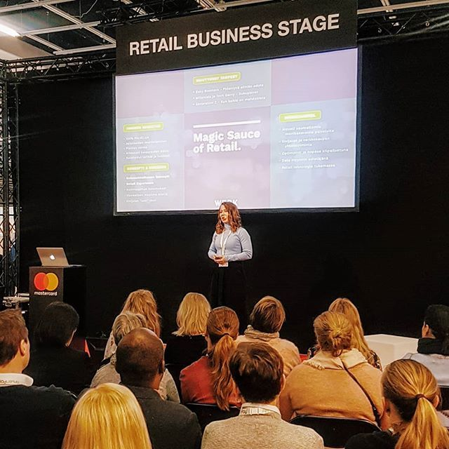 Yesterday's Ecommerce  Shop Tech was a huge success! Thank you all who came to listen to Ilona's speech about Future of Retail. It was great to see you all there. To find out more check out our brand new website - link in bio. . . . . . #futureofretail #retailexcellence #retail #retailer #retailers #concept #omnichannel #startup #startuplife #entrepreneurship #entrepreneurs #inspiration #messukeskus #entrepreunialmindset #exhibition #ecommerce #businesswoman