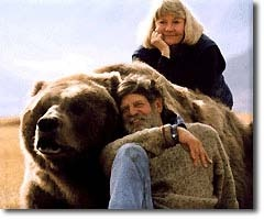 Good friends Doug, Lynn & Bart the Bear