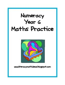 These task cards are designed to address many of Year 6 maths concepts.