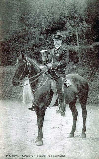 R. Martin, Mounted Crier, Ilfracombe