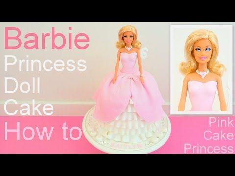 How to Make a Princess Aurora Doll Cake - Disney's Sleeping Beauty Cake by Pink Cake Princess - YouTube