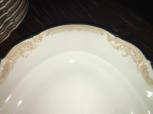 Buy Gorgeous Full Hutschenreuther dinner set 95 pieces. Gold Trim. Sylvia Pattern. Magnificent conditionfor R71,000.00