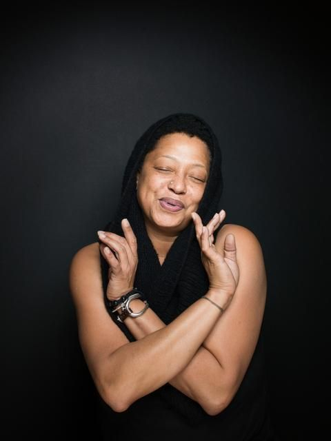 "Lisa Fischer | an amazing singer who performs backup with the Rolling Stones, won a Grammy for a Solo album, and is featured on the joyful documentary about back-up singers, ""20 Feet from Stardom"""