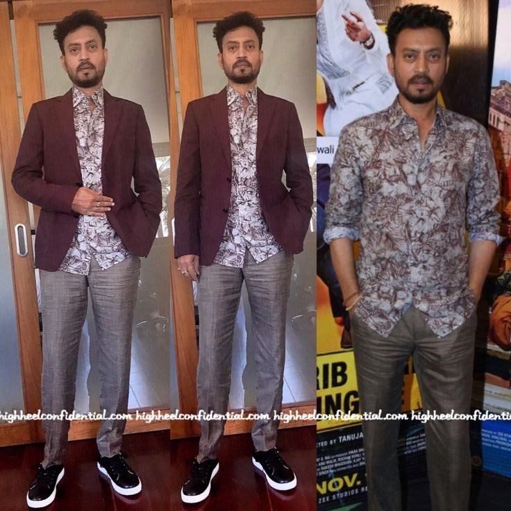 Irrfan in Ermenegildo Zegna, Berzeri sneakers, Celebrity fashion, Indian Style, celebrity style, Fashion, Indian Celebrity Fashion, Indian Fashion, Indian Celebrities