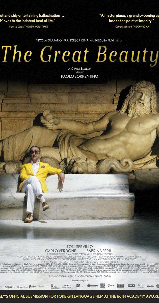 Directed by Paolo Sorrentino. With Toni Servillo, Carlo Verdone, Sabrina Ferilli, Carlo Buccirosso.