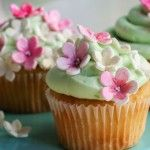 Cupcakes de primavera.