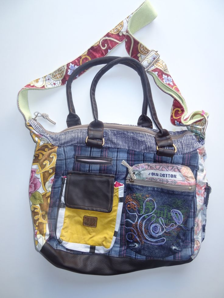 Old Cotton Cargo Bag - BAG#21 (59,- €)