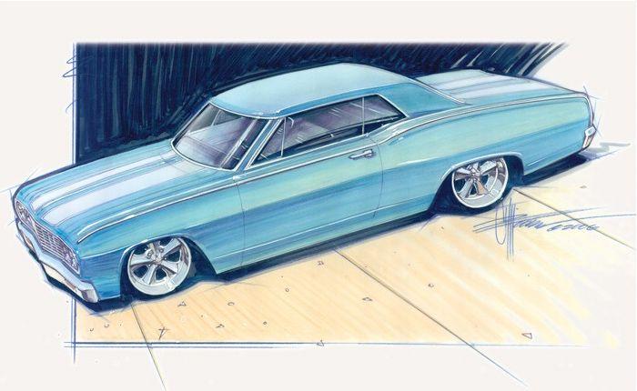 Chip Foose Designs | Chip Foose sketches | Pinterest