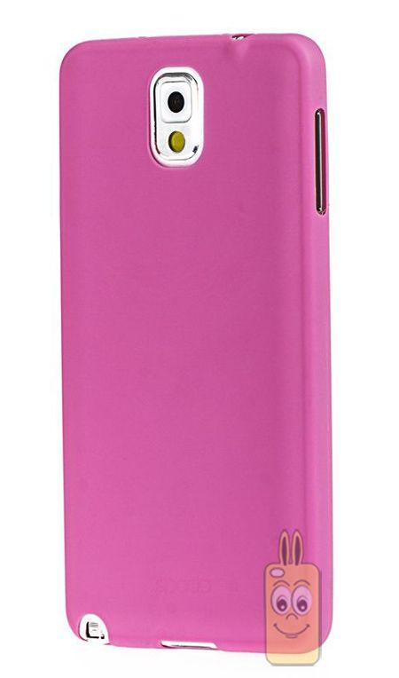 Spada Air TPU Samsung Galaxy Note 3 Pembe Silikon Kılıf