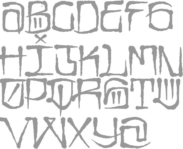 Highground Industries (or: Highground Graffiti Fonts, or: Fulltime Artists)