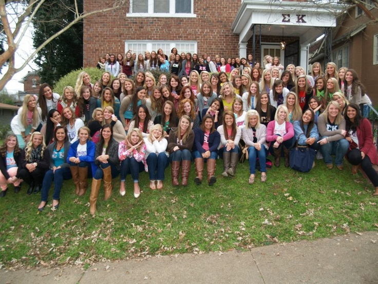 In 2006, the Theta Phi chapter relocated into a Historic Fort Wood District, becoming the very first sorority in Tennessee to have a residential sorority home.  Since then, our chapter has grown so large, that our cherished sorority home can no longer hold all of our members.  In order to accomodate our growing membership, we are very proud to announce that we will soon begin construction on a new home in 2013!  This house will house 16 members!