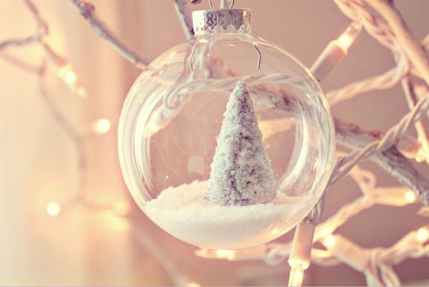 Winter Wonderland Ornament | 39 Ways To Decorate A Glass Ornament