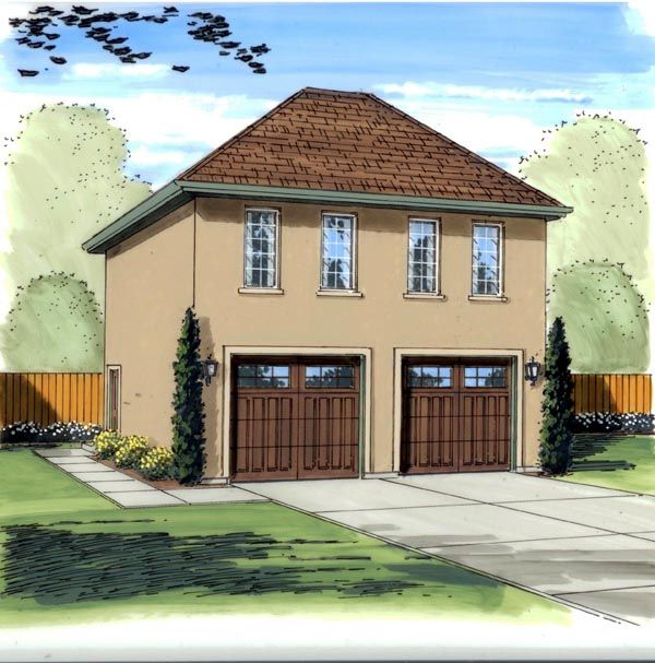 Garage Plan 95826 At Familyhomeplans Com: 108 Best Images About Garage Apartment On Pinterest