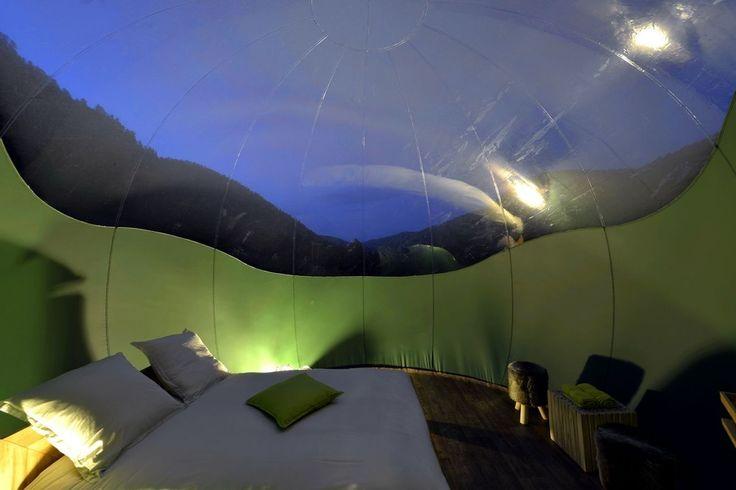 Nuit insolite dans les Vosges