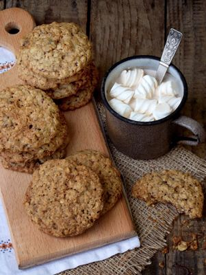 Oatmeal Raisin Cookies By Paula Deen. A family favorite with oats, cinnamon and raisins.