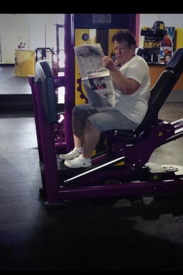 28 Things You Will Only See At Planet Fitness Planet Fitness Workout Gym Fail Gym Humor
