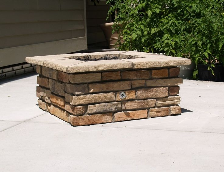 25 Best Ideas About Square Fire Pit On Pinterest
