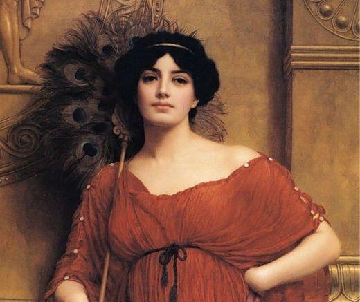 Римлянки придавали большее значение уходу за кожей, чем декоративной косметике. Однако, это не мешало им наносить на веки золотистые краски и угольком подводить брови! Неотъемлемой частью модного образа был загар, и выгоревшие на солнце волосы тоже считались красивыми. Женщины применяли множество средств, стараясь замедлить старение, самым популярным оставались молочные ванны, которым приписывали чудодейственный эффект.