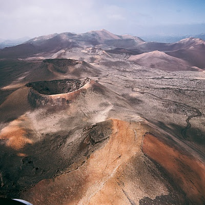 Lanzarote - Timanfaya yes I was living on  a volcanic island and yes it is active :)