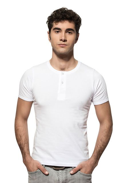 Özkan Erkek Düğmel Yarım Kol T-Shirt 0275 (#247871298)