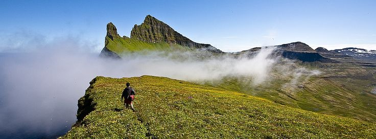 Glamping in Hornstrandir Nature Reserve in the Westfjords of Iceland